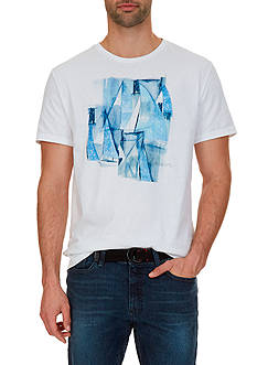 Nautica Big & Tall Sailboats Tee