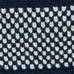Mens Designer Sweaters: Navy Nautica Breton Stripe Sweater