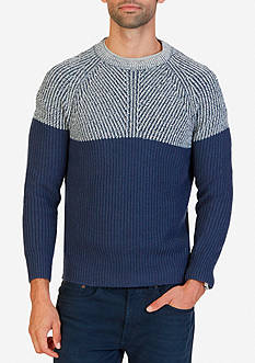 Nautica Color Blocked Sweater