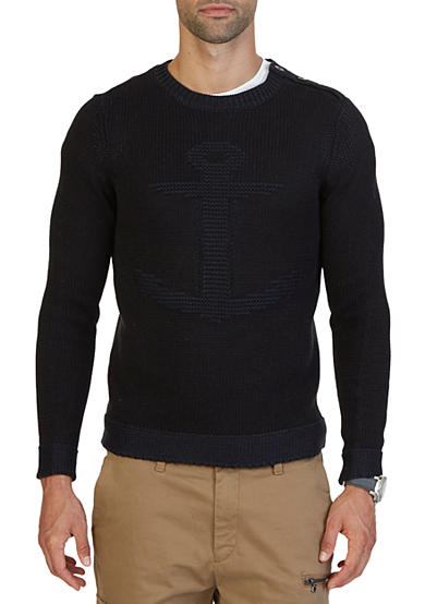 Nautica Anchor Sweater