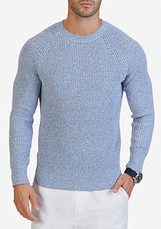 Nautica Cardigan Stitched Sweater