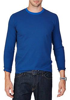 Nautica Classic Fit Striped Long Sleeve T-Shirt