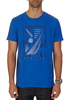 Nautica Isometric Graphic Tee
