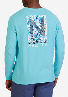 Nautica 'N' Graphic Long Sleeve T-Shirt