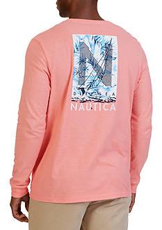Nautica 'N' Graphic Long Sleeve T-Shirt
