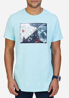 Nautica Collage Graphic T-Shirt