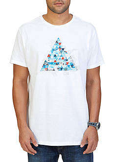 Nautica Triangle Pyramid Graphic T-Shirt