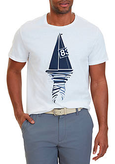 Nautica Sailboat 83 Graphic T-Shirt