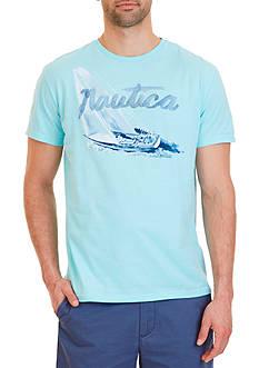 Nautica Sail Boat Graphic T-Shirt