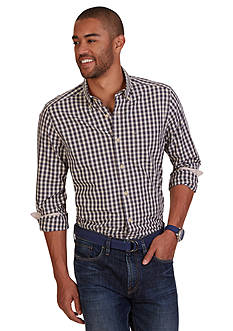 Nautica Classic Fit Plaid Shirt