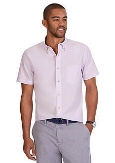 Nautica Classic Fit Poplin Short Sleeve Shirt
