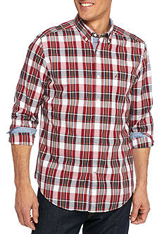 Nautica Classic Fit Caspian Plaid Shirt