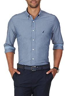 Nautica Classic Fit Cool Striped Shirt