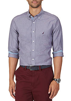 Nautica Classic Fit Cool Striped Shirt