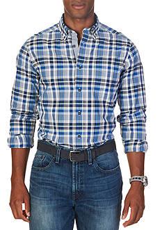 Nautica Classic Fit True Plaid Shirt