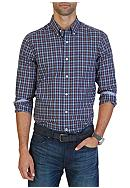Nautica Classic Fit Wrinkle Resistant Ensign