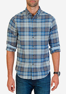 Nautica Classic Fit Delft Plaid Shirt