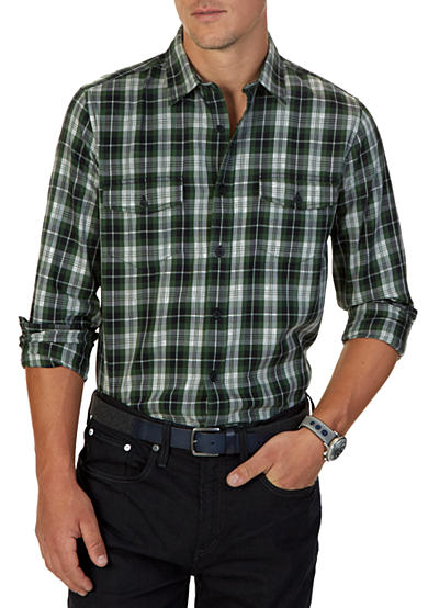 Nautica Slim Fit Pacific Plaid Shirt