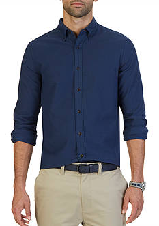 Nautica Slim Fit Moleskin Shirt