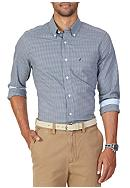 Nautica Classic Fit Wrinkle Resistant Check Shirt