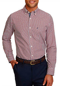 Nautica Classic-Fit Gingham Shirt