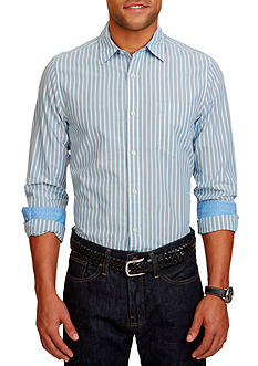 Nautica Slim-Fit Striped Contrast Shirt