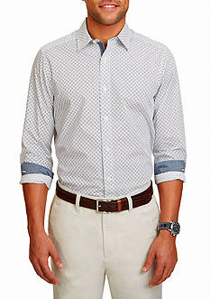 Nautica Classic-Fit Geo Print Shirt