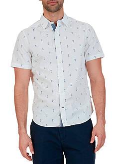 Nautica Classic Fit Short Sleeve Shirt