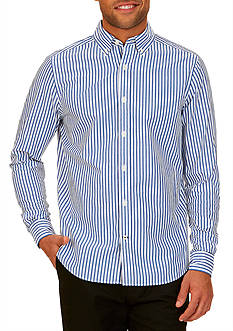 Nautica Classic-Fit Striped Button Down Shirt