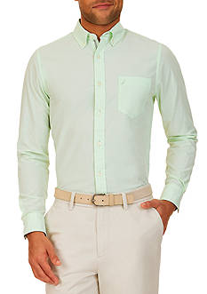 Nautica Slim-Fit Button Down Shirt