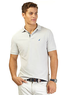 Nautica Big & Tall Solid Performance Deck Shirt