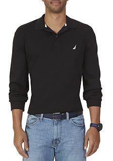 Nautica Big & Tall Long Sleeve Polo Shirt