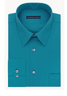 Geoffrey Beene Wrinkle Free Non-Iron Fitted Dress Shirt
