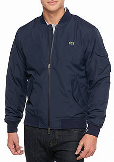 Lacoste Lightly Padded Taffeta Bomber Jacket