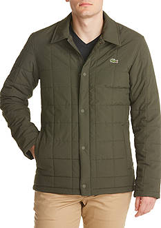 Lacoste Quilted Car Coat