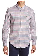 Lacoste Long Sleeve Oxford Multi-Color Check