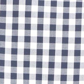 Men: Lacoste Designer: Navy Blue/White Lacoste Long Sleeve Gingham Check Button Down Shirt