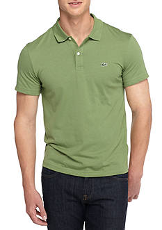 Lacoste Short Sleeve Pima Jersey Polo Shirt
