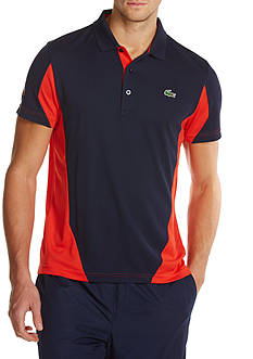 Lacoste Short Sleeve Ultradry Color Block Polo