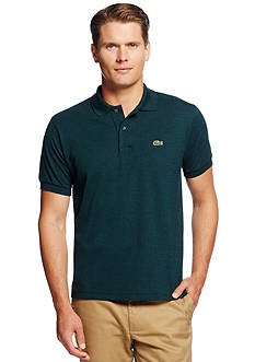 Lacoste Short Sleeve Classic Fit Chine Pique Polo Shirt