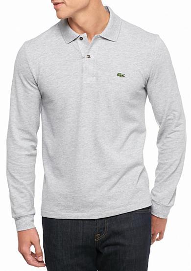 Lacoste Long Sleeve Classic Pique Polo Shirt Belk