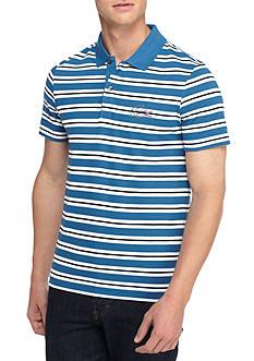 Lacoste Short Sleeve Stripe Pique Polo Shirt