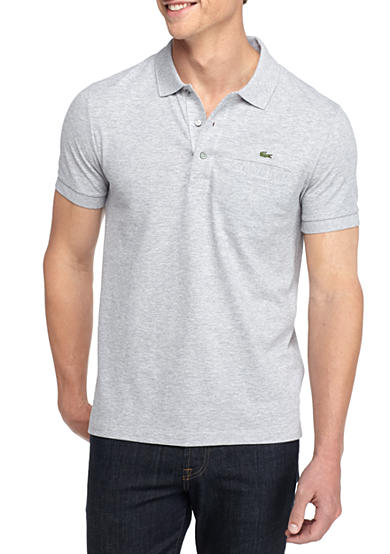 Lacoste Short Sleeve Regular Fit With Pocket Polo Shirt