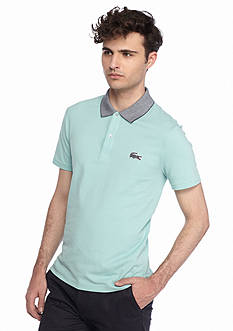 Lacoste Short Sleeve Caviar Croc Polo Shirt
