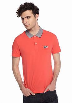Lacoste Short Sleeve Caviar Croc Polo Shirt
