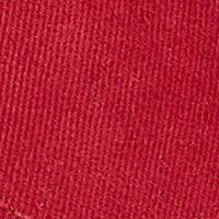 Red Designer Hats for Men: Bordeaux Lacoste Big Croc Gabardine Cap
