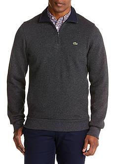 Lacoste 1/4 Zip Pullover Sweatshirt