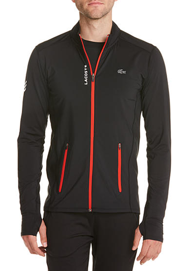 Lacoste Sport Performance Perforated Full Zip Stretch Sweatshirt