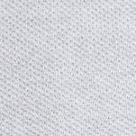 Young Mens Activewear: Hoodies & Fleece: Silver Chine/Navy Lacoste Fancy Pique Full Zip Cotton Sweater