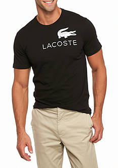 Lacoste Short Sleeve Graphic Logo T-Shirt